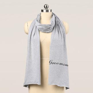 Groomsman Jersey Knit Scarf