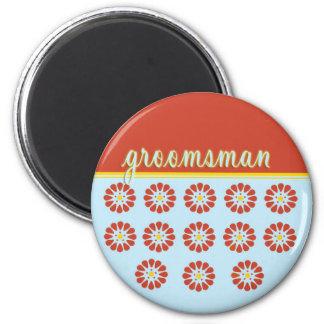 groomsman fridge magnet
