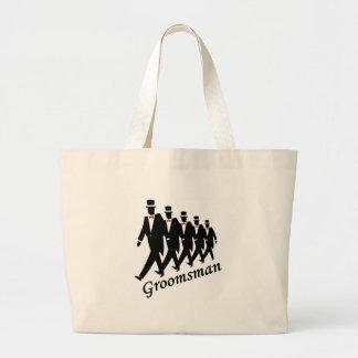 Groomsman (Men) Jumbo Tote Bag