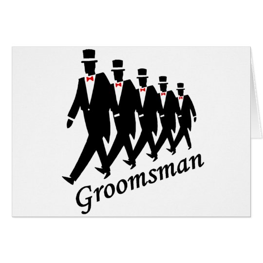 Groomsman (Men) Card