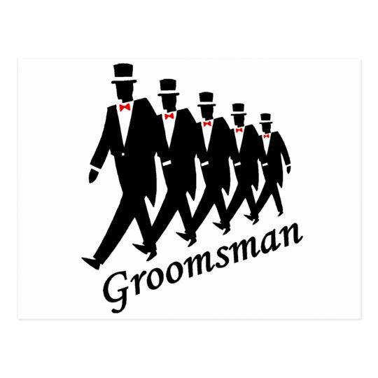 Groomsman (Men) Postcard