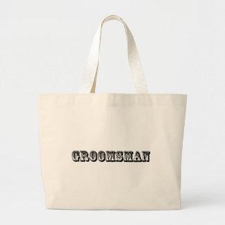 Groomsman - Old West Canvas Bag