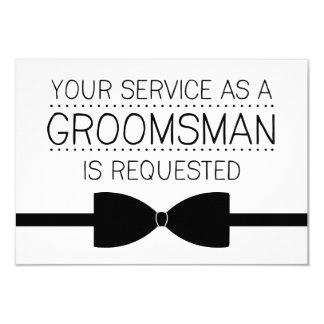 Groomsman Request | Groomsmen Card