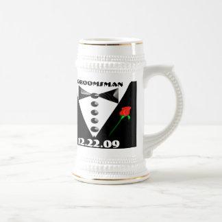 Groomsman Stein - Chope À Bière