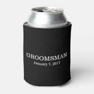 Groomsman | Wedding Can Cooler