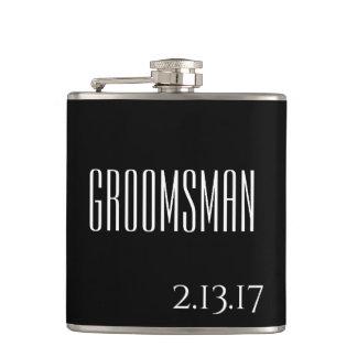 GROOMSMAN WEDDING GIFT FLASK