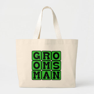 Groomsman Wedding Party Member png Tote Bag