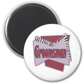 Groomsmen Magnet