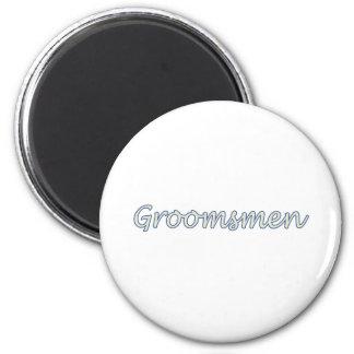 Groomsmen Fridge Magnets