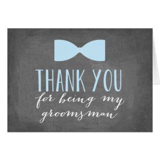 Groomsmen Thank You | Groomsman Note Card
