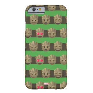 Groot Emoji Stripe Pattern Barely There iPhone 6 Case