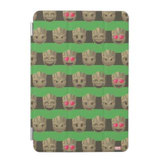 Groot Emoji Stripe Pattern iPad Mini Cover