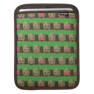 Groot Emoji Stripe Pattern iPad Sleeve