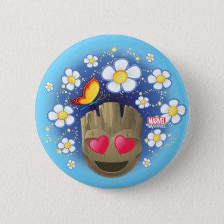 Groot In Love Emoji 2 Inch Round Button