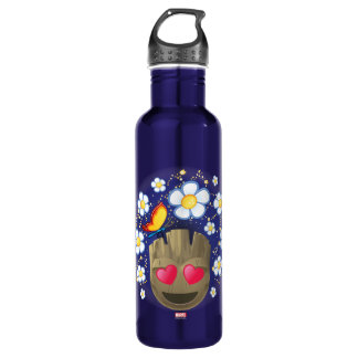 Groot In Love Emoji 710 Ml Water Bottle