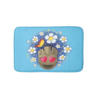 Groot In Love Emoji Bath Mat