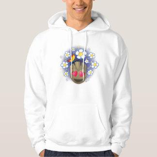 Groot In Love Emoji Hoodie