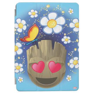 Groot In Love Emoji iPad Air Cover