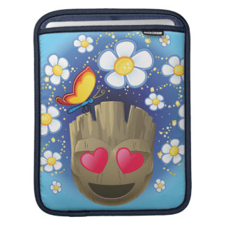 Groot In Love Emoji iPad Sleeve