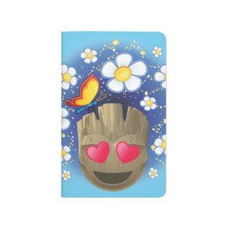 Groot In Love Emoji Journal
