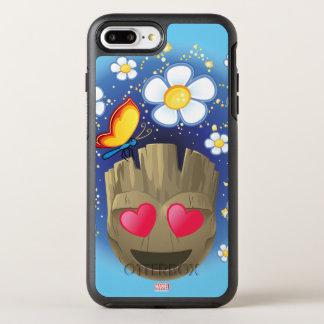 Groot In Love Emoji OtterBox Symmetry iPhone 8 Plus/7 Plus Case