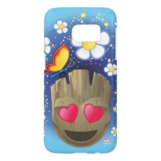 Groot In Love Emoji Samsung Galaxy S7 Case