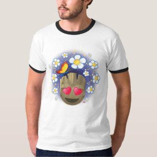 Groot In Love Emoji T-Shirt