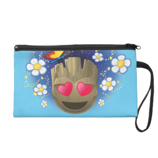 Groot In Love Emoji Wristlet