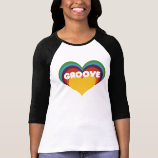 Groove Heart T Shirts
