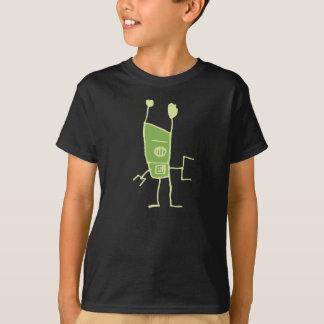 Groove Robot-Green T-Shirt