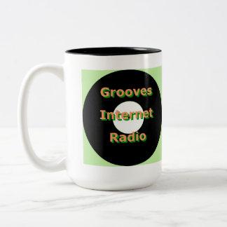 Grooves Internet Radio Mug