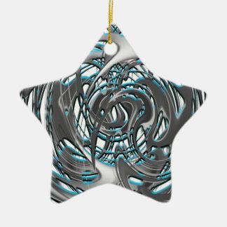 groovie train ceramic ornament
