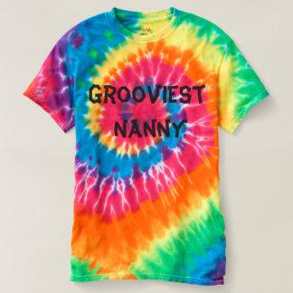 Grooviest Nanny T-shirt