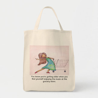 Grooving at the Grocery Bag