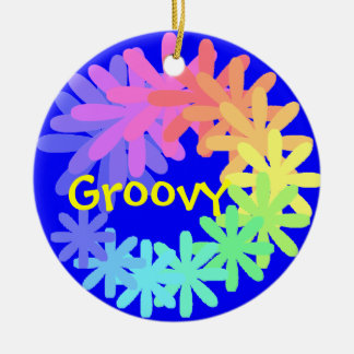 Groovy 60's Ornament