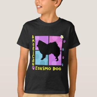 Groovy American Eskimo Dog T-Shirt