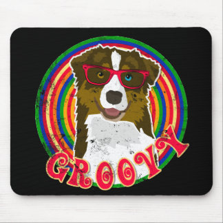 Groovy Aussie 2 Mouse Pad