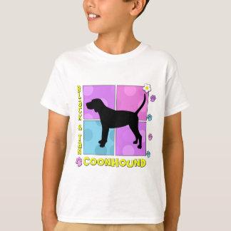 Groovy Black & Tan Coonhound T Shirts