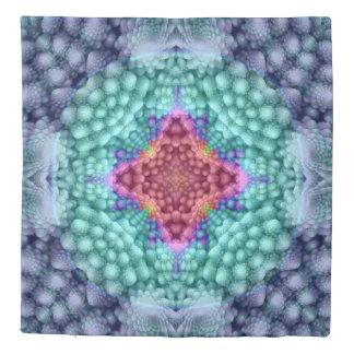 Groovy  Blue  Kaleidoscope   Duvet Covers