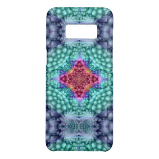 Groovy  Blue   Kaleidoscope    Phone Cases