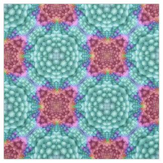 Groovy Blue  Two Kaleidoscope  Fabric, 7 styles Fabric