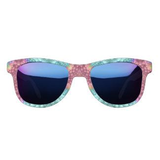 Groovy Blue Vintage  Custom Polarized Sunglasses