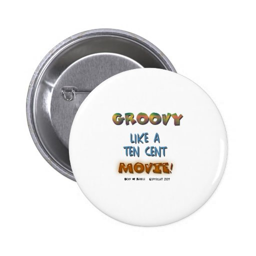 Groovy Pinback Buttons