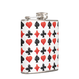 Groovy Cards Hip Flask