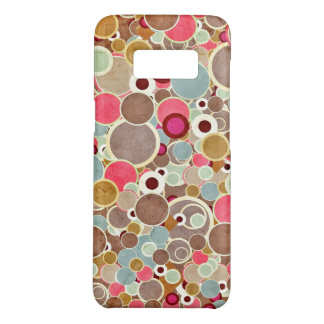 Groovy Colored Circle Design Case-Mate Samsung Galaxy S8 Case