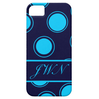 Groovy Dots #3 with monogram iPhone 5 Cover