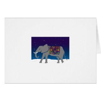 Groovy Elephant Card