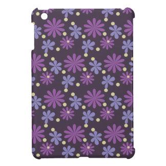 Groovy Floral dark iPad Mini Cover