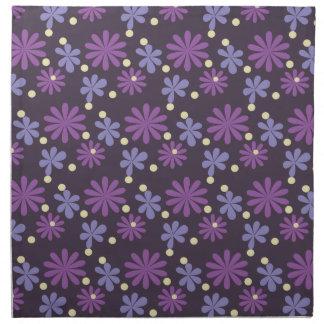 Groovy Floral dark Napkin