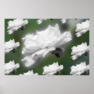 Groovy Flower Poster